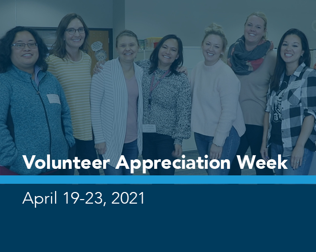 Volunteer Appreciation Week graphic
