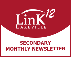 LinK12 Secondary Monthly Newsletter graphic