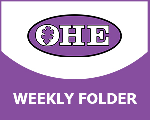 OHE Weekly Folder graphic